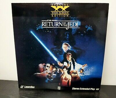 Star Wars: Return Of The Jedi LaserDisc 2-Disc Widescreen Extended