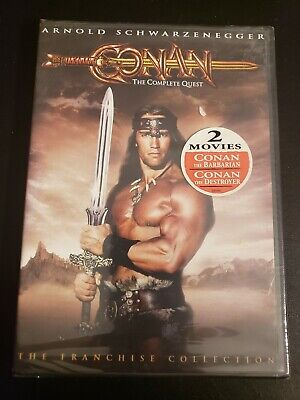Conan: The Complete Quest (DVD, 2004, 2-Disc Set) Brand New & Sealed