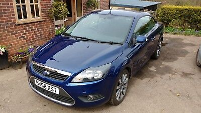 Ford Focus CC 2.0 convertible dual fuel LPG/Petrol Deep Blue 49,000+history