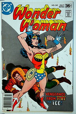 Wonder Woman 245 July 1978 Nm Bronze Age Dc Comics Comic Book Cbb001