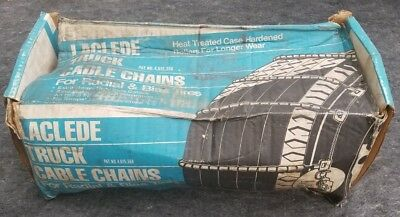 Laclede Truck Cable Chains 10.00-20 11-22.5 275/80R24.5 285/75R24.5