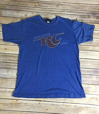 Vintage RC Cola T-shirt. Royal Crown Soda Logo T-shirt. Junk Food Men's Size L