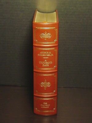Signed 60 - Franklin Library - A Thousand Days: John F. Kennedy - Schlesinger