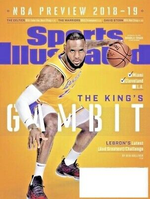 465e8ad70875 Sports Illustrated Nba Preview Double Issue Lebron James Los Angeles Lakers