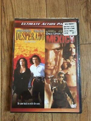 Once Upon a Time In Mexico/ Desperado (DVD, 2004, 2-Disc Set) NEW SEALED
