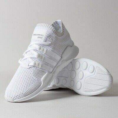 74ee998c83d5 Adidas EQT Support ADV PK Mens BY9391 White Primeknit Running Shoes Size 8.5