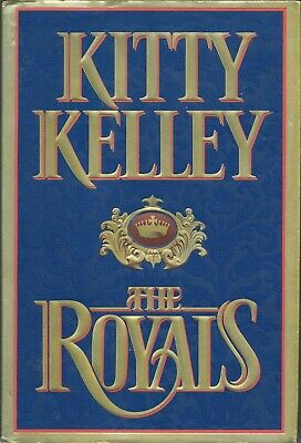 THE ROYALS by KITTY KELLEY*1997*HARDCOVER W/DUST JACKET*PHOTO ILLUSTRATIONS*