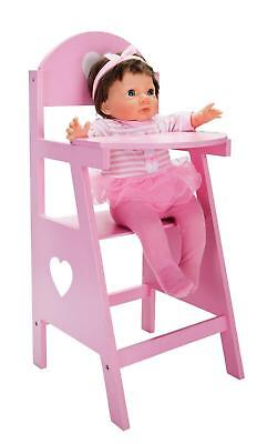 Chad Valley Babies To Love Wooden Doll's Highchair Baby Kids Play Fun Gifts UK