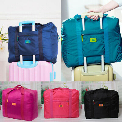 Portable Travel Storage Luggage Carry-on Organizer Clothes Shoulder Duffle Bag