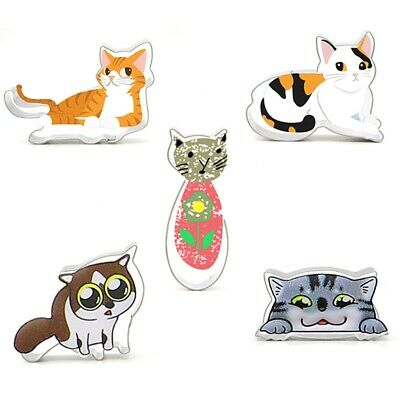5pcs / set Cat Cartoon Stainless Steel Biscuit Cookie Cake Pastry Fondant Mold