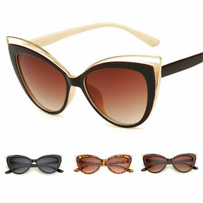 Womens Fashion Vintage Retro Cat Eye Sunglasses UV400 Eyewear Eye Glasses Unisex