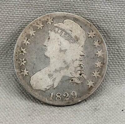 1829 Capped Bust Half Dollar! No Reserve!