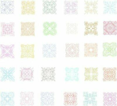 OESD Embroidery Machine Designs CD ELEGANT LINE QUILTING #12043