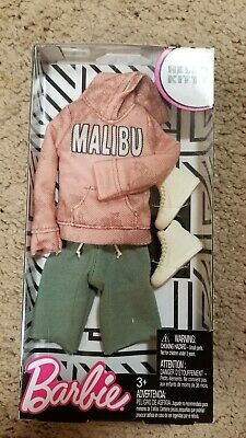 Barbie Doll Ken Casual Malibu Hoodie Complete Look Fashion Outfit Pack