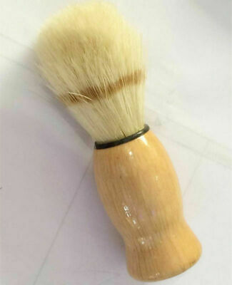 New Men Shaving Bear Brush Best Badger Hair Shave Wood Handle Razor Barber Tool