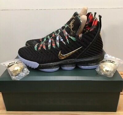 new product c32e9 6a068 Nike Lebron 16 King s Throne Basketball Sneakers Men s Sz M 10 Women s Sz W  11.5