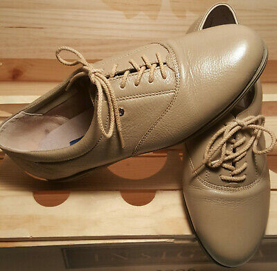 d440f56163 EASY SPIRIT MOTION Leather Oxfords Wheatfield Leather womens 7.5 D/B ...