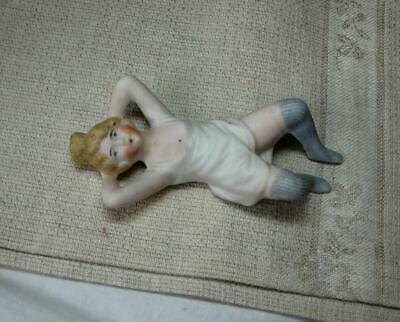 Naughty Bathing Beauty Girl Germany Doll Peeing Squirt Antique Bisque Hertwig