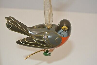 2018 Hallmark Keepsake Robin, 14th in the  Beauty of Birds Series NEW MINT