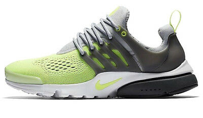 219cf0cd680e Nike Air Presto Ultra Breathe Wolf Grey volt Shoes Size 10 New (898020-