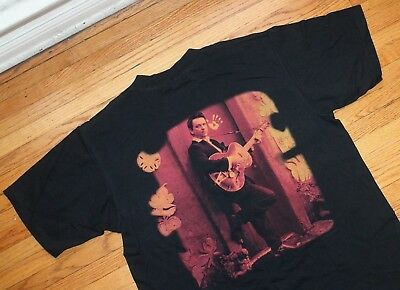 1994 Jimmie Vaughan Vintage Tour Concert Shirt Mens Large Guitar Band Strange