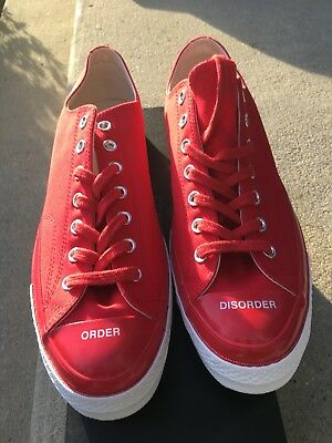 f3fc5491828f Converse X Undercover All-Star 70 s OX Low-Chuck Taylor-RED Men s Size
