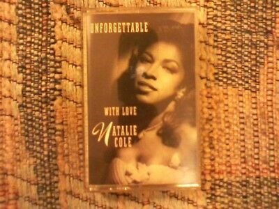 Unforgettable-With Love by Natalie Cole: OOP Cassette in NM COND, Elektra ('91)!