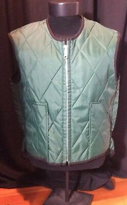 Vintage Lee Outerwear Green Insulated Vest L