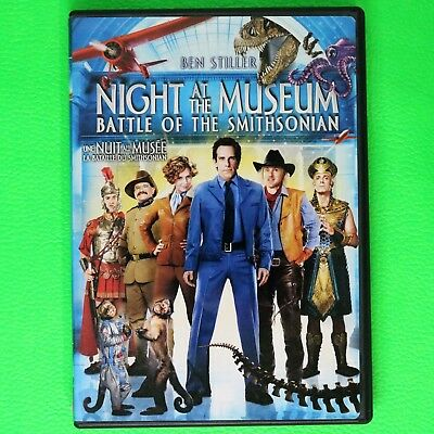 Night At The Museum:battle Of The Smithsonian - Dvd Region 1 - English:ufrench