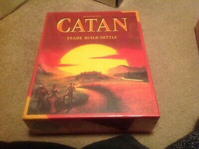 New Settlers of Catan Board Game 5th Edition Free Shipping