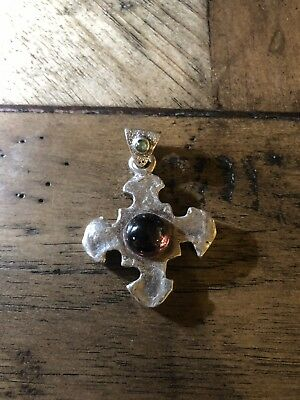 ee162b31b LEE BREVARD / Brevard Designs Tiny Two Tone Cross - $125.00 | PicClick