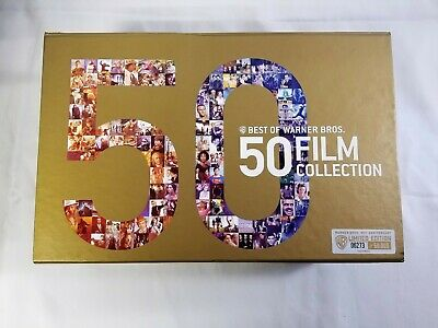 Best of Warner Bros. - 50 Film Collection (Blu-ray, 2013) — 52 Discs — New