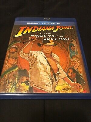Indiana Jones And The Raiders Of The Lost Ark (1981, Blu ray) Like New Condition