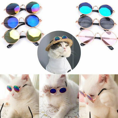 Cute Pet Dog Cat Glasses For Little Puppy Eye-wear Sunglasses Photos Pet Supply