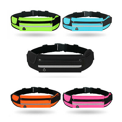 Sports Waist Belt Bum Bag Jogging Running Travel Pouch Keys iPhone Money Cash