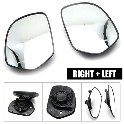 Left &Right Rear View Mirror Clear Glass For Honda GOLDWING GL1800 01-12 Durable