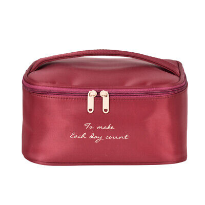 Professional Nylon Waterproof Makeup Bag Beauty Casual Cosmetic Case for Travel