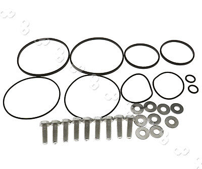Auto Solenoid Seal O Ring Kit Fitting Bolts Washers Set For Bmw