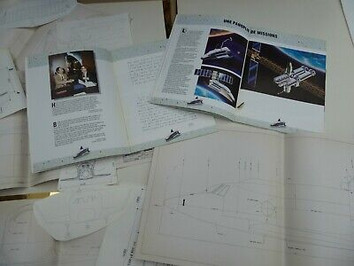 La Navette  Hermes   ( Spatiale ) Brochure  Photos  Plans Reels
