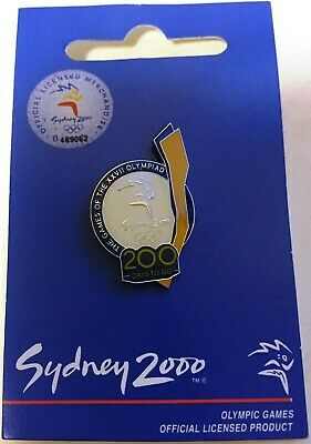 Sydney 2000 Olympic Pin 200 Days To GoCash's Aminco 17483