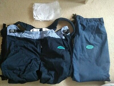 Weego Twin Baby Carrierblue with bag and instructions used only a few times