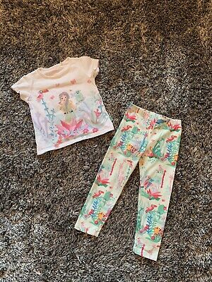 Good Condition - Oilily Girl Jungle Tracksuit Set Top Leggings  Fits 3 Years