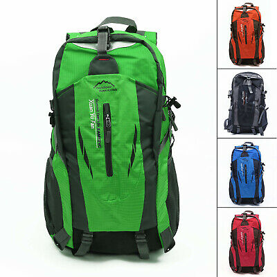 40L Large Waterproof -Outdoor Sports-Backpack Travel Hiking Camping Rucksack Bag