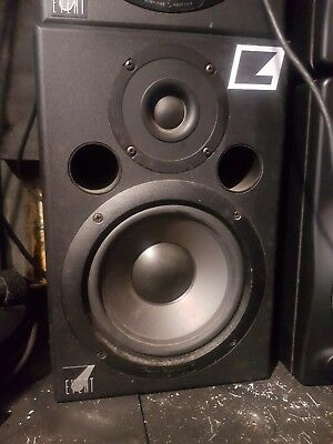 Event audio tr6 active monitors. Perfect working condition