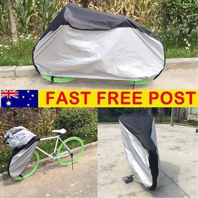 AU Bike Bicycle Cover Outdoor Scooter Cycling Rain Dust Protector Waterproof