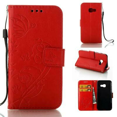 Fold Magnetic Leather Card Wallet Stand Flip Case Cover For Samsung Galaxy Phone