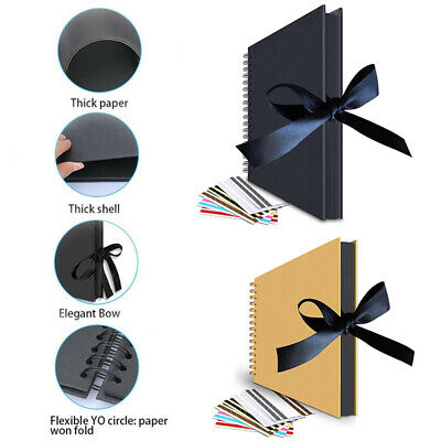 80 Pages Photo Album Photos Storage Case Memo Baby Wedding Family Gifts