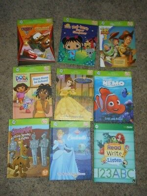 LeapFrog Tag Reading System Book Lot -9 Book Set