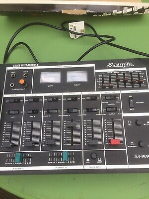 Maplin Mixing Deck Equaliser.