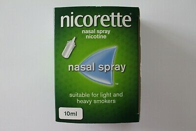 Nicorette Nasal Spray 10ml - Suitable For Light And Heavy Smokers